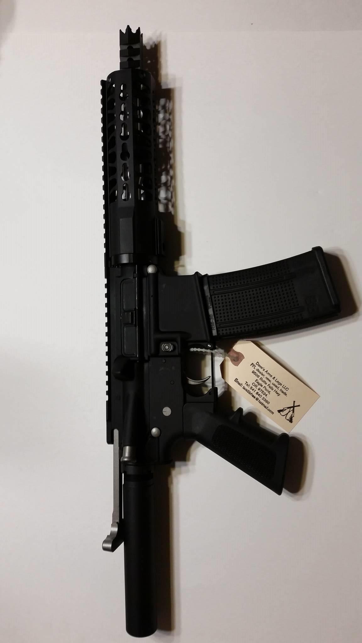 AR 15 pistol 1