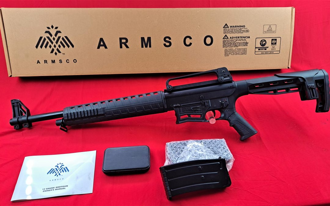 """Armsco MK 12 Gauge 20"""" 5-Rd Shotgun $old  let me know I can still get more"""